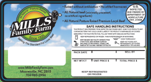 mills-packing-label